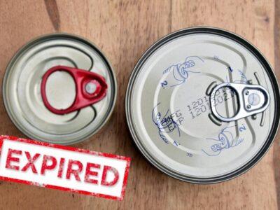銷毀過期食品,飲品