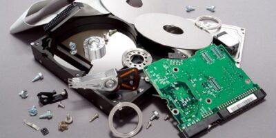 銷毀電腦硬碟